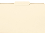 Smead File Folder 15336, Reinforced 1/3-Cut Tab Center Position, Legal, Manila