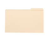 Smead File Folder 15337, Reinforced 1/3-Cut Tab Right Position, Legal, Manila