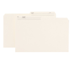Smead Reversible File Folder 15348, 1/2-Cut Printed Tab, Legal, Ivory