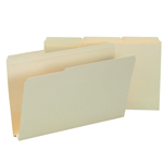 Smead File Folder 15405, Reinforced 1/3-Cut Tab, 1-1/2