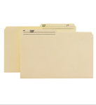 Smead Reversible Heavyweight File Folder 15445, 1/2-Cut Printed Tab, Legal, Manila