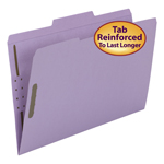 Smead Fastener File Folder 17440, 2 Fasteners, Reinforced 1/3-Cut Tab, Legal, Lavender