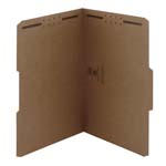 Smead Fastener File Folder 19837, 2 Fasteners, Reinforced 1/3-Cut Tab, Legal, Kraft