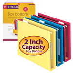 Smead Hanging Box Bottom Folder with Pocket and Tab 64265, 2