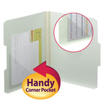 Smead Self-Adhesive Poly Corner Pocket 68140, 4