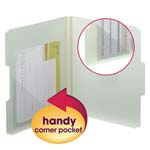 Smead Self-Adhesive Poly Corner Pockets 68160, 6