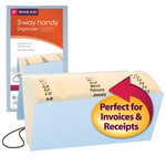 Smead Handy File 70200, Multi-Indexed (A-Z, Jan.-Dec. and 1-31), 12 Pockets, Flap and Cord Closure, 11