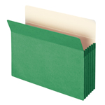Smead File Pocket 73236, Straight-Cut Tab, 5-1/4