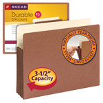 Smead File Pocket 73875, Straight-Cut Tab, 3-1/2