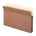Smead File Pocket 74214, Straight-Cut Tab, 1-3/4
