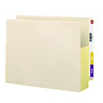 Smead End Tab File Pocket 75164, Reinforced Straight-Cut Tab, 3-1/2