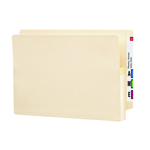 Smead End Tab File Pocket 76114, Reinforced Straight-Cut Tab, 1-3/4