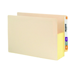 Smead End Tab File Pocket 76174, Reinforced Straight-Cut Tab, 5-1/4