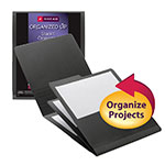Smead Organized Up® Stackit® Organizer 87001, Three Pockets, Letter, Linen Stock, Gray