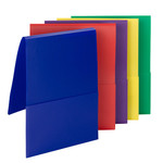 Smead Campus.org Poly Backpack File Folder 87844, Letter, Assorted Colors