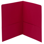 Smead Two-Pocket Heavyweight Folder 87859, Up to 100 Sheets, Letter, Red