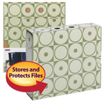 Smead MO® File Case Wrap 92032, Letter, Moss Circles