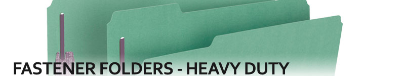 Fastener Folders - Heavy Duty