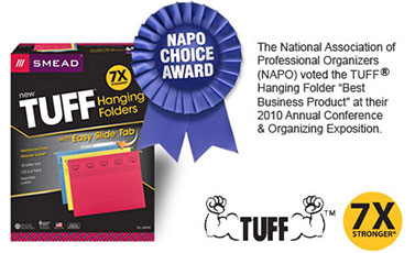 TUFF™ Hanging Folder with Easy Slide™ Tab