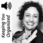 Podcast 050: The Three Essentials for Getting Organized