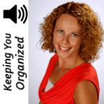 Podcast 057: Tips for Organizing Kids and Family