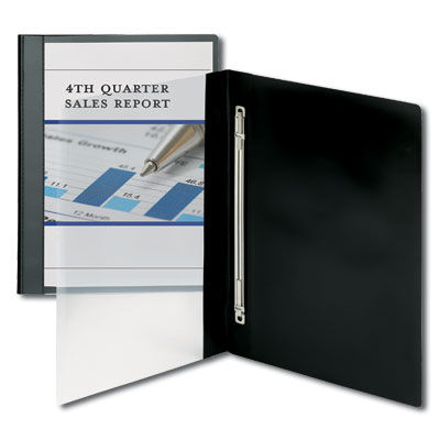 poly report covers with clear front