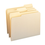 Smead File Folder 10330, 1/3-Cut Tab, Letter, Manila