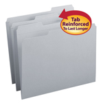 Colored File Folders with Reinforced Tab