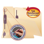 Fastener Folders with SafeSHIELD® Fasteners
