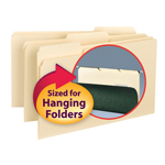 Smead Interior File Folder 15230, 1/3-Cut Tab, Legal, Manila