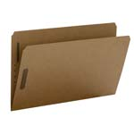 Smead Fastener File Folder 19813, 2 Fasteners, Reinforced Straight-Cut Tab, Legal, Kraft
