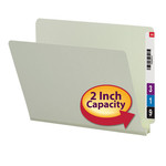 Smead End Tab Pressboard File Folder 26210, Straight-Cut Tab, 2