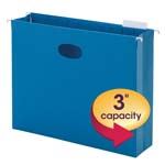 Smead Hanging File Pocket with Full-Height Gusset 64270, 3
