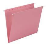 Smead Hanging File Folder 64429, Letter, Dark Pink