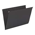 Smead Hanging File Folder 64477, Legal, Black