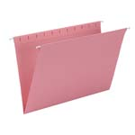 Smead Hanging File Folder 64479, Legal, Dark Pink