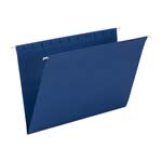 Smead Hanging File Folder 64484, Legal, Navy