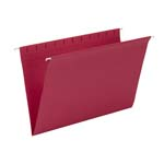 Smead Hanging File Folder 64488, Legal, Red