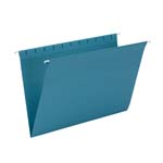 Smead Hanging File Folder 64490, Legal, Teal