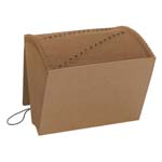 Smead Expanding File 70168, Daily (1-31), 31 Pockets, Flap and Cord Closure, Letter, Kraft