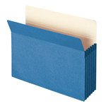 Smead File Pocket 73235, Straight-Cut Tab, 5-1/4