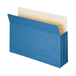 Smead File Pocket 74225, Straight-Cut Tab, 3-1/2