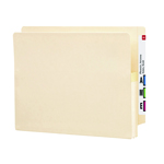 Smead End Tab File Pocket 75114, Reinforced Straight-Cut Tab, 1-3/4