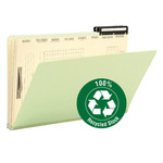 Smead Pressboard Mortgage File Folder 78208, 2/5-Cut Right Position Flat Metal Tab, 14-3/4