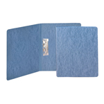 Smead Press Guard® Report Cover 83052, Punchless Style Fasteners, 125 Sheets, Letter, Blue