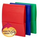 Smead Organized Up® Poly Stackit® Organizer, Letter Size, Assorted Colors, 6 Pack