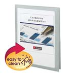 Smead Frame View Poly Two-Pocket Folder 87706, Holds up to 100 Sheets, Letter, Oyster