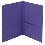 Smead Two-Pocket Heavyweight Folder, Letter Size, Purple, 25 per Box (87864)