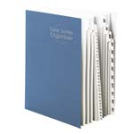 Smead Desk File/Sorter 89235, Daily (1-31) and Monthly (Jan.-Dec.), 43 Dividers, Letter, Dark Blue