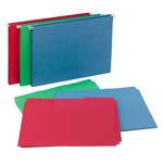 Smead Reveal Hanging Folders with SuperTab® Folders Kit, 1/2